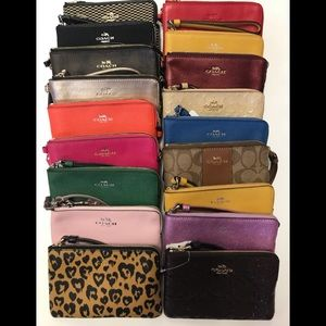 Coach wristlets 18 different color only 30$ each
